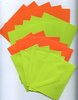 20 tlg. Karten-Set (grün-orange)