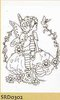 "Marianne design ""Ragdolls"" clear stamps"