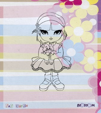 "Clear Stamp ""BLOSSOM"" / Art.-Nr.: Bloss04"