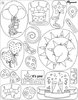 "Pergamano Clear stamps ""BIRTHDAY"""