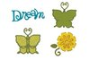 "Sizzix Stanzschablone - Ellison""Butterfly Set 2"""