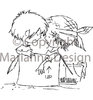 "Marianne design Clear Stamp ""Don & Daisy"""