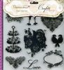 "DOCRAFTS Papermania 9 Clear Stamps ""CONFETTI"""