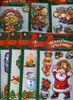 """3-D Sticker-SET 8 tlg. WINTER-WEIHNACHTEN"""