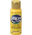 Americana Acrylfarbe - gelb (Primary Yellow) 59 ml