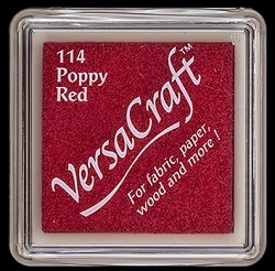 *VersaCraft Stempelkissen MINI Poppy Red