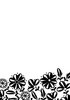 Folder Flower border-1 10,6 x 15,0 cm