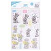 "2 tlg. SET ""ME TO YOU SPRING CHIC"" 2 Perlmuttstanzbogen A4 EASTER BUNNY"
