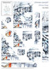 DESIGN HOUSE Schneidebogen Christmas Snowfall