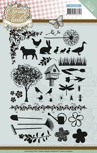 CLEAR STAMPS - Yvonne Creations