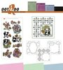 "13 tlg. Bastelset ""Dot and Do"""
