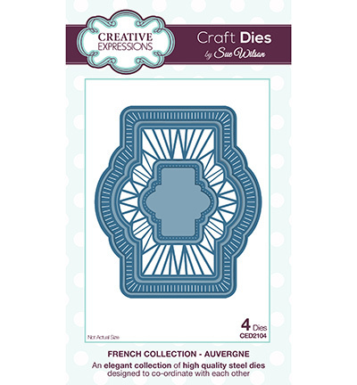 *Craft Dies by Sue Wilson - Stanzschablonen
