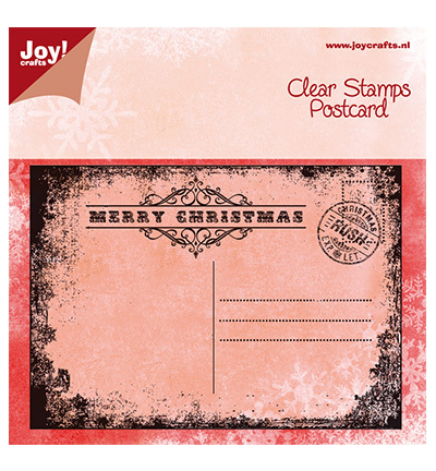 "JOY Clear Stamps ""Postcard"""