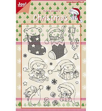 "JOY Clear Stamps ""Christmas"""