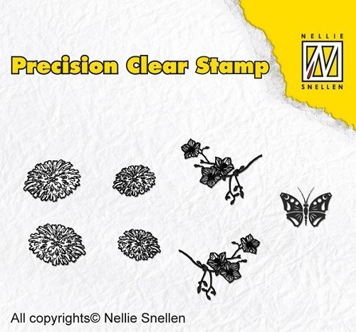 "*Nellie Snellen ""Clear Stamps"""