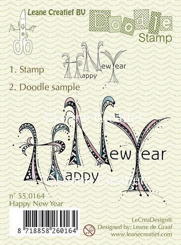 Leane Creativ - Clear Stamps - Doodle Stamp
