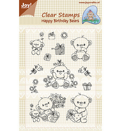 "JOY Clear Stamps ""Happy Birthday Bears"""