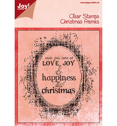 "JOY Clear Stamps ""Christmas Frames"""