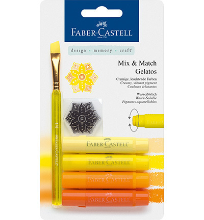 MIX & MATCH GELATOS Faber-Castell gelb