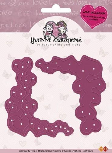 Schleife Geburt Pergament zum besticken mit rosa B/är