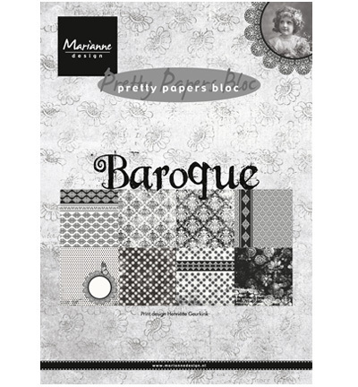 "Pretty Papers Bloc ""Baroque"" Marianne Design A5"