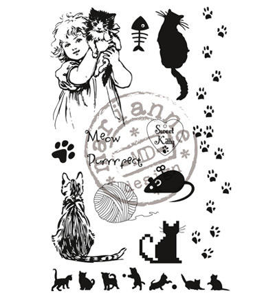 "Marianne design ""Clear Stamps - Sweet Kitty"""