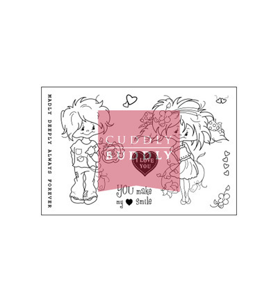 *Cuddly Buddly Clear Stamps Little Poppets