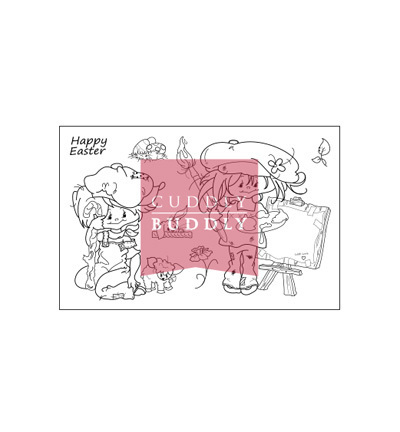 "Clear Stamps ""Little Poppets Springtime"""