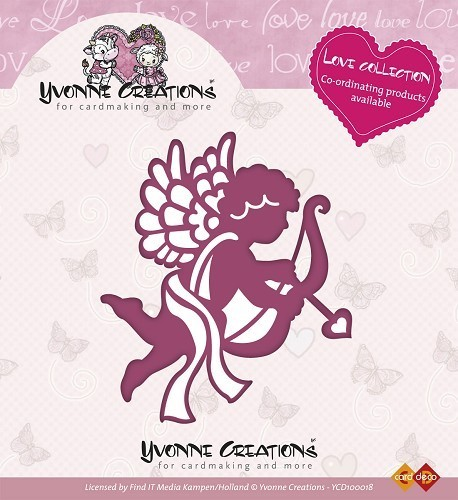 "VB Yvonne Creations Stanzschablone ""Cupido"""