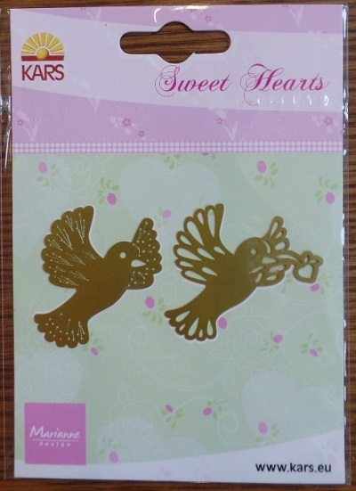 "Marianne Design ""Sweet Hearts"" Stickschablone"
