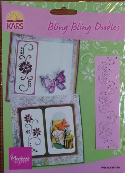 Marianne Design Bling Bling Doodles Stickschablone