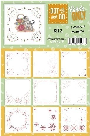 DOT and DO Cards ONLY SET 2 (9 Auflegekarten)