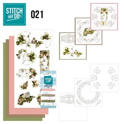 STITCH and DO 21 - Rustikales Weihnachten