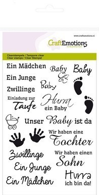 Clear Stamps Schriften