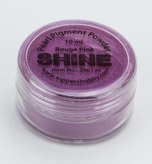 SHINE Pigmentpulver, 10 ml Rouge Pink