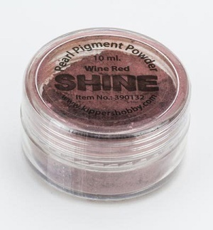 *SHINE Pigmentpulver 10 ml Wine Red