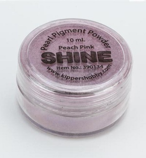 *SHINE Pigmentpulver 10 ml Peach Pink