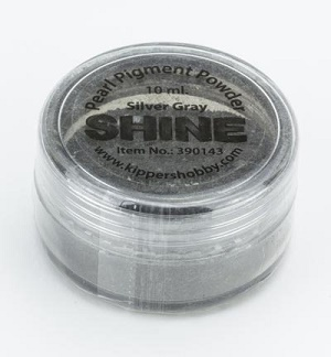 VB SHINE Pigmentpulver, 10 ml Silver Gray