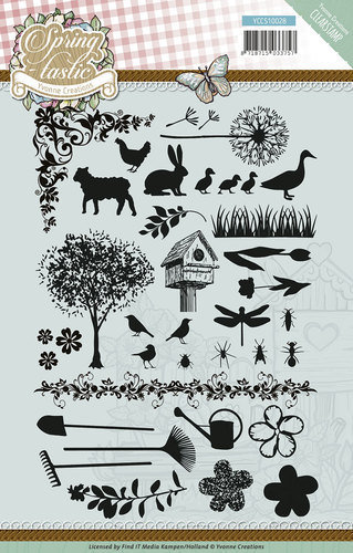 Clear Stamps Spring-tastic