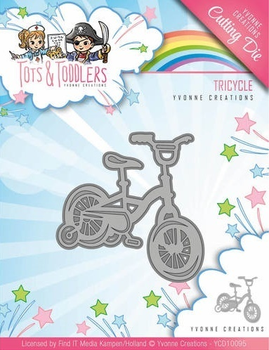 Stanzschablone - Tots and Toddlers - Tricycle