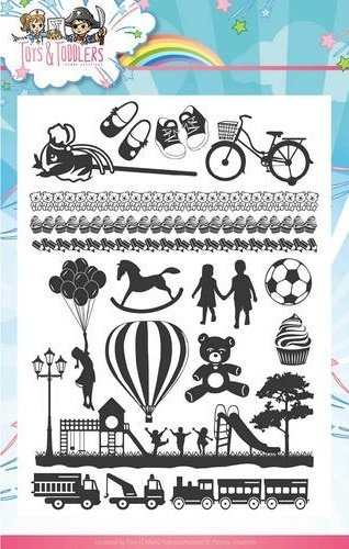 Clear Stamps Tots and Toddlers