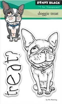 Penny Black Clear Stamp doggie treat