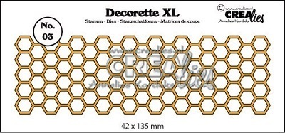 Crealies Stanzschablone Decorette XL 03