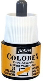 COLOREX Aquarelltinte von Pébéo Yellow Ochre