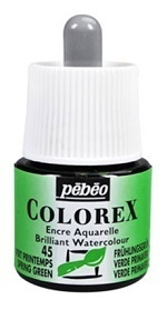 COLOREX Aquarelltinte von Pébéo Spring Green