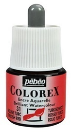 COLOREX Aquarelltinte von Pébéo Turkish Red