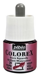 COLOREX Aquarelltinte von Pébéo Purple