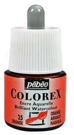 COLOREX Aquarelltinte von Pébéo Orange