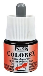 COLOREX Aquarelltinte von Pébéo Mars Orange