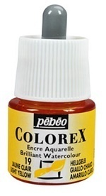 COLOREX Aquarelltinte von Pébéo Light Yellow